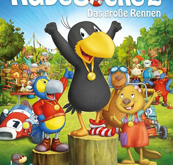 Raven the Little Rascal – The Big Race